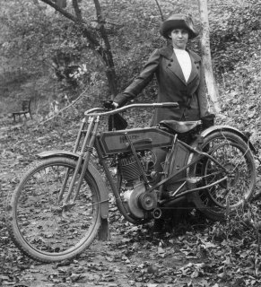 An early Lady with Harley